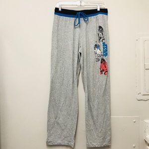 Star Wars gray sleepwear pajamas unisex sz…